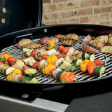 Weber 22 in. Performer Deluxe Charcoal Grill in Copper with Built-In Thermometer and Digital Timer