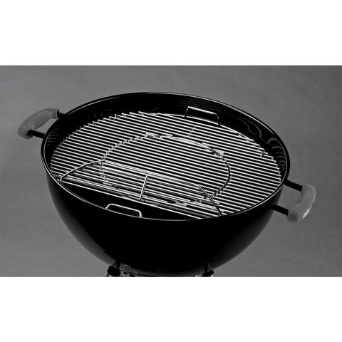 Weber Hinged Replacement Cooking Grate with Removable Center for 22-1/2 in. Charcoal Grill