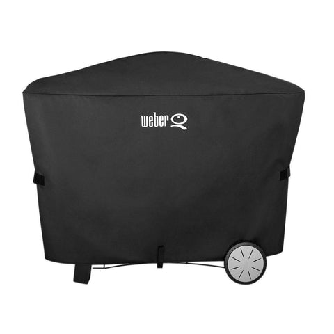 Weber Q 100/1000/200/2000 with Rolling Cart Grill Cover