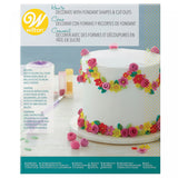Wilton How to Decorate with Fondant Shapes and Cut-Outs 16-Piece Kit