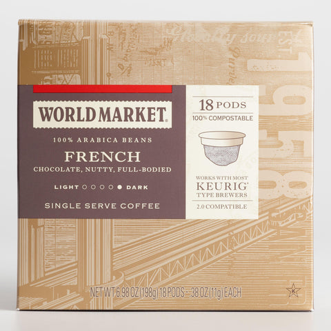 World Market French Roast OneCup™ Coffee