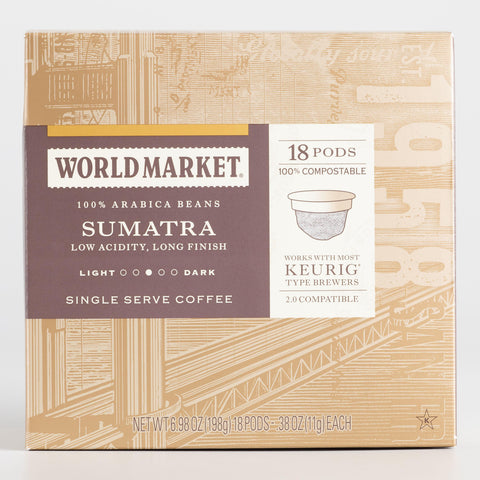 World Market Sumatra OneCup™ Coffee