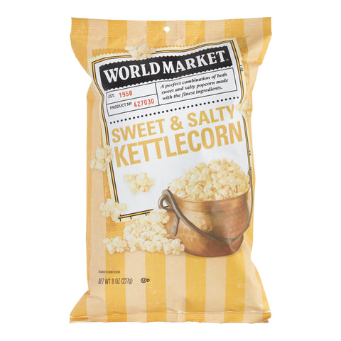 World Market Sweet and Salty Kettle Corn Set of 12