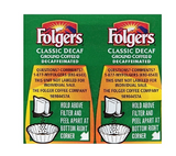 Folgers Ultra Roast Decaf Ground Coffee, Vacuum-Sealed Pack, Medium Roast, 42/Carton (PRO06927)