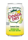Canada Dry Lemon-Lime Seltzer, 12 Oz., 24/Carton (00078000165166)