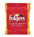 Folgers Classic Roast Ground Coffee, Medium Roast, Fraction Packs, 42/Carton (PRO18999)