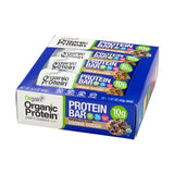 Orgain Organic Plant Based Protein Bar, Cookie Dough, 10g Protein, 12 Ct