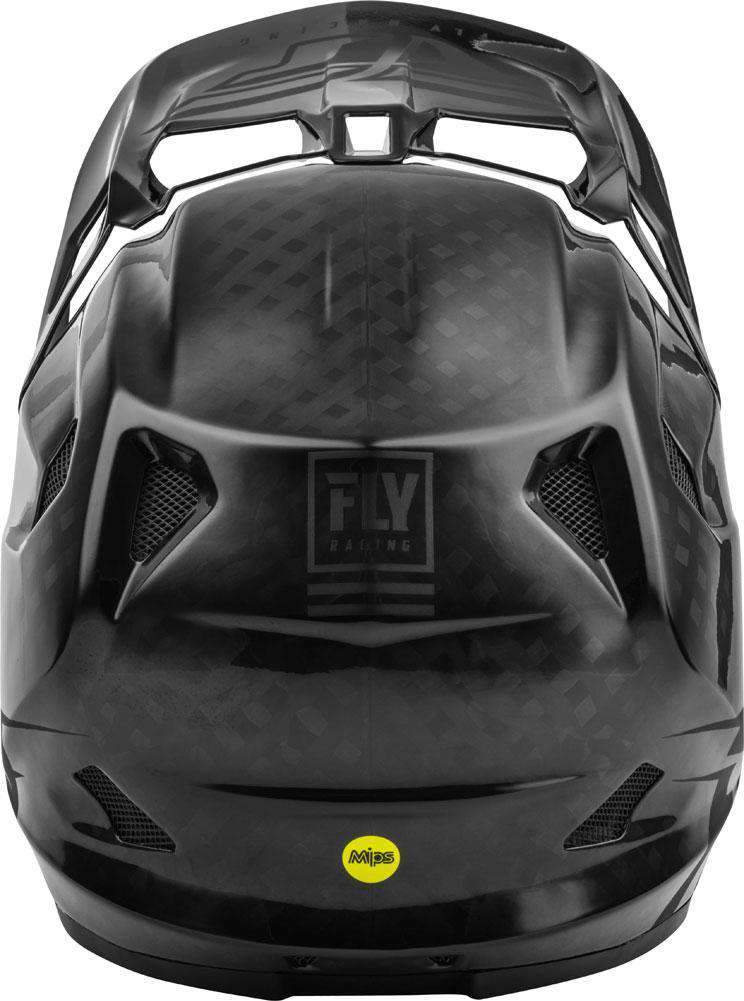 Fly Racing Helm Werx Imprint MTB/BMX schwarz-carbon