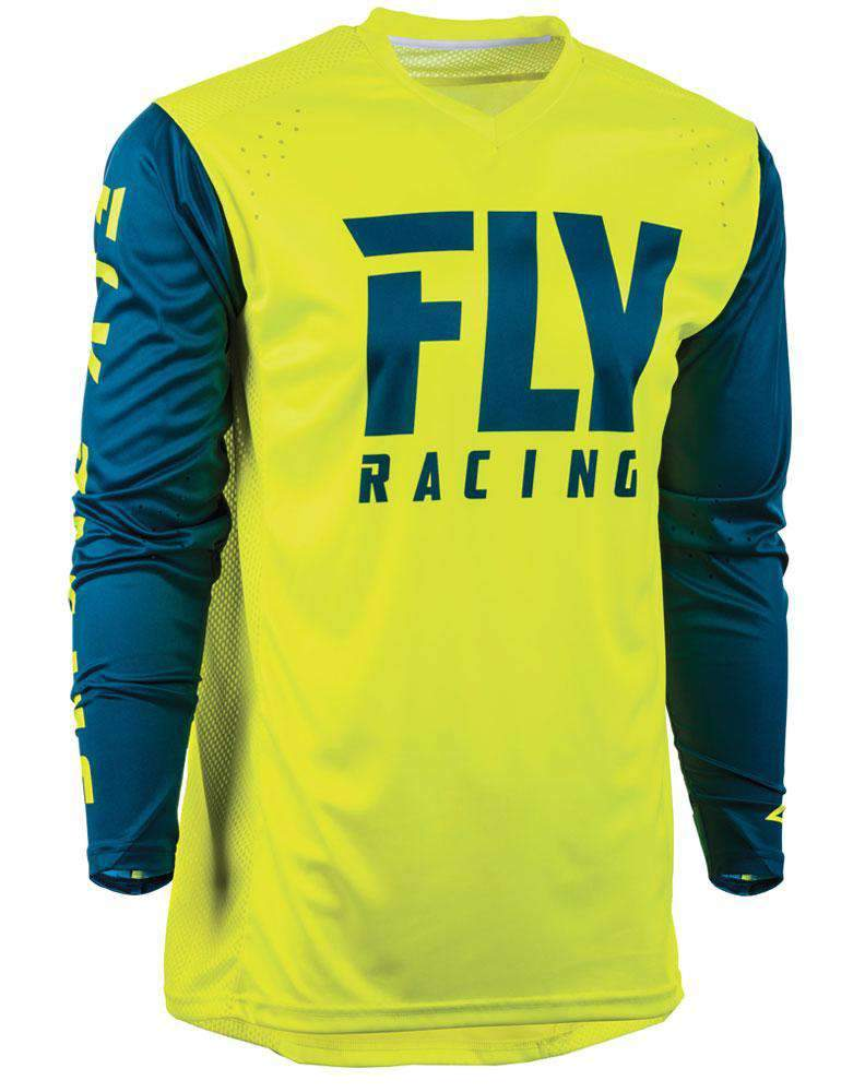 Fly Racing Hemd Radium hi-vis-navy