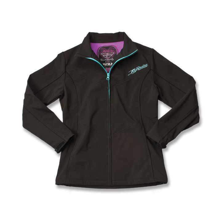 Fly Racing Jacke Double Agent Lady schwarz