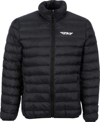 Fly Racing Jacke Travel schwarz