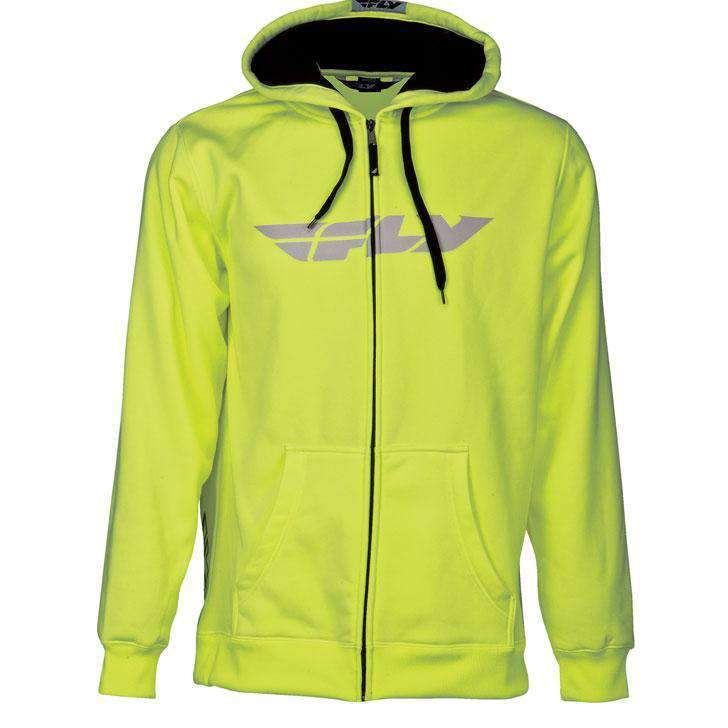 Fly Racing Kapuzenjacke Corporate neon