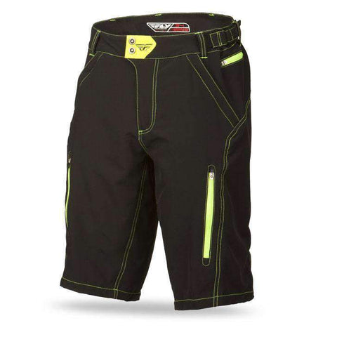 Fly Racing MTB Short Warpath schwarz-neon
