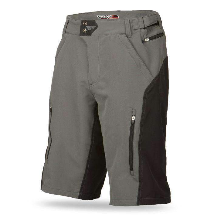Fly Racing Short MTB Warpath schwarz-grau