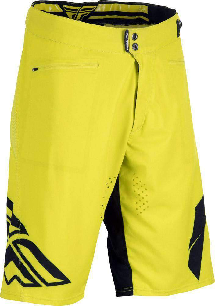 Fly Racing Short Radium MTB/BMX lime-schwarz