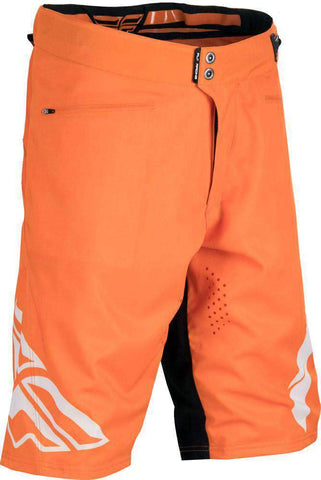 Fly Racing Short Radium MTB/BMX orange-weiß