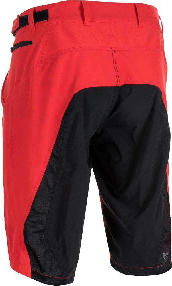 Fly Racing Short Warpath MTB/BMX rot-schwarz