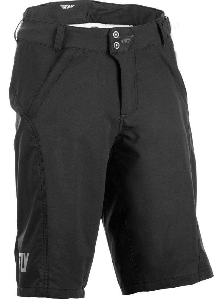 Fly Racing Short Warpath schwarz
