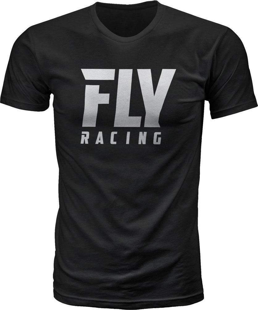 Fly Racing T-Shirt Fly Logo schwarz