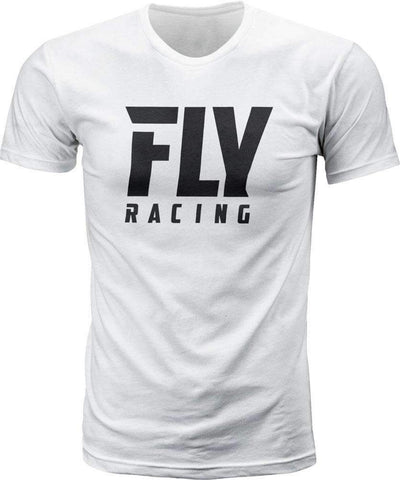Fly Racing T-Shirt Fly Logo weiß