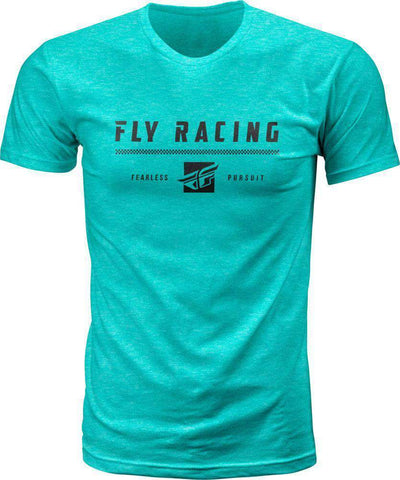 Fly Racing T-Shirt Pursuit heather grün
