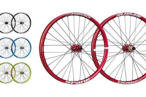 "SPANK OOZY TRAIL-345 27,5"" WHEELSET 15MM+20M+QR+12/142MM TL"