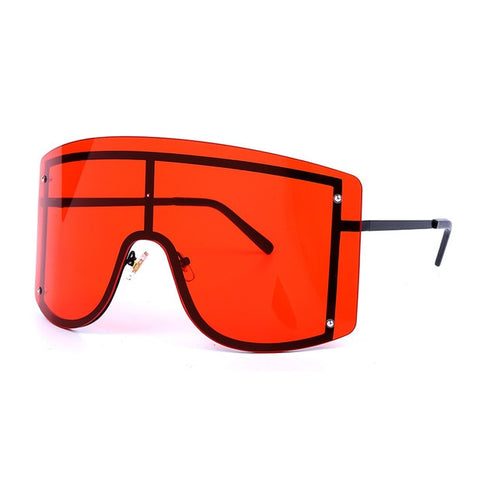 Oversized Gradient Sunglasses Eyewear