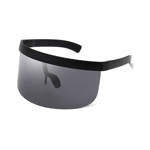 OEC CPO Fashion Sunglasses Women Men Brand Design Goggle Sun Glasses Big Frame Shield Visor Men Windproof Glasses O44