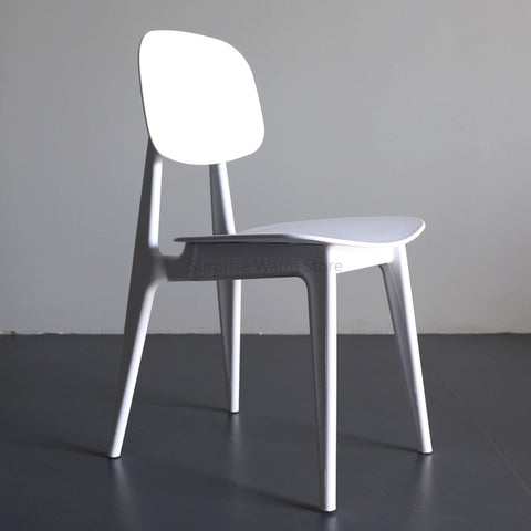 Nordic Ins Style Minimalist Furniture Dining Chair Candy Bar Chair Creative Macaron Plastic Personality Tea Chair Cafe Chair
