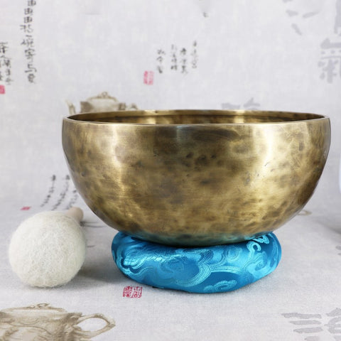 Handmade Copper  Large Singing Bowl