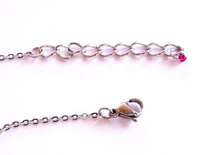 Collier Chocker Rose ISABELLA