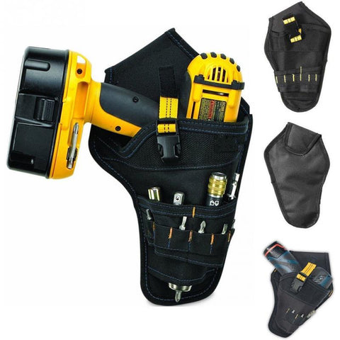 Image of PORTABLE DRILL HOLSTER - Keep your power tools handy!
