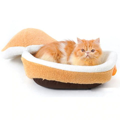 Hamburger Comfy Cat Bed