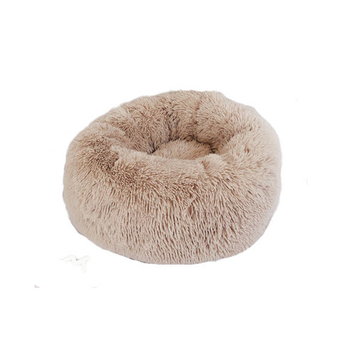 Image of Furry Donut Cat Bed - Newest!