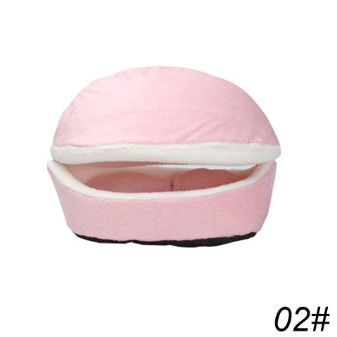Image of Hamburger Comfy Cat Bed