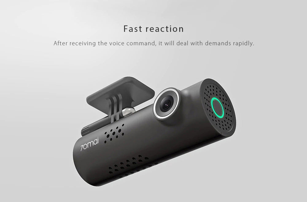 Car Security smart Dash Cam DVR - voice recognition