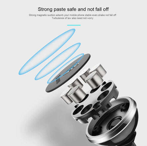 Image of Magnetic Car Phone Holder For iPhone XS X Samsung