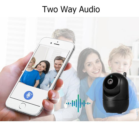 FULL HD Wireless IP Tracking Camera