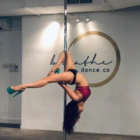 Pole Dancer Singapore 2