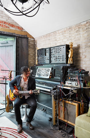 Back to the Future: A backyard studio preserved in musical history.