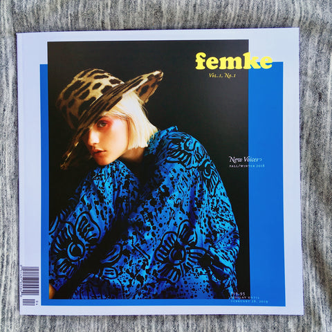 Femke Magazine - Fall/Winter 2018, postage included