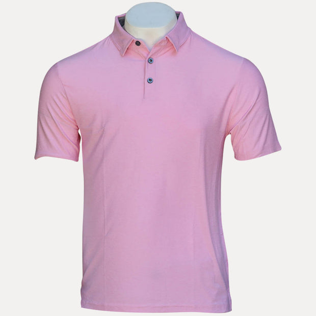 FEATHERLITE POLO - PRISM PINK