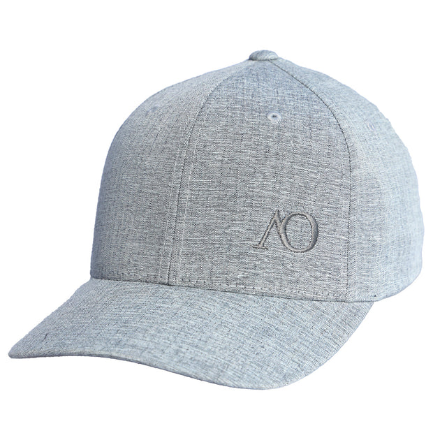 AO PERFORMANCE HAT - LIGHT GREY HEATHER
