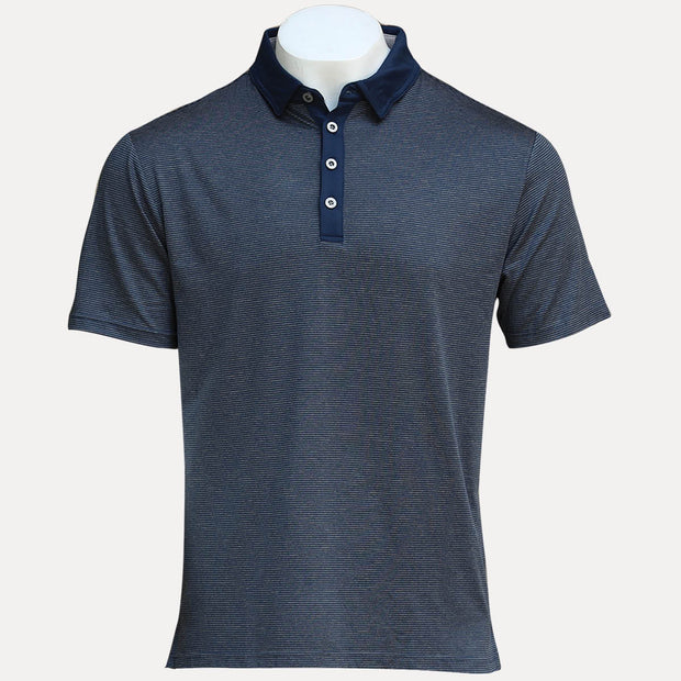 KAILUA POLO - GREY HEATHER