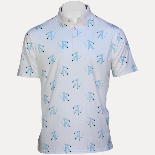 MAUI POLO - DRESS BLUES