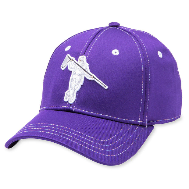 PERFECT FITTED - PURPLE/STEEL