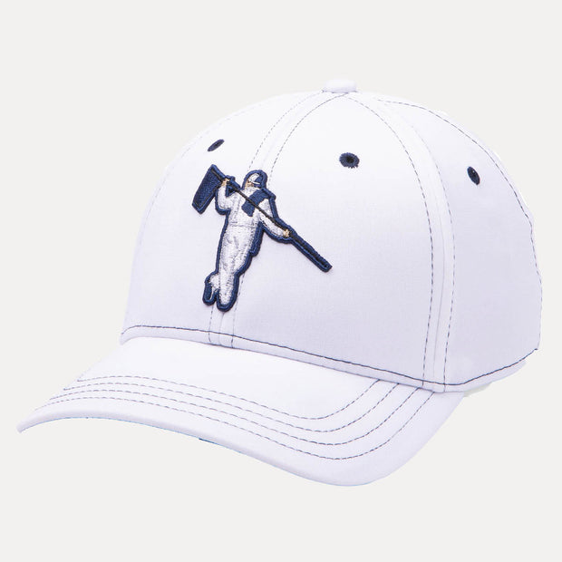 PERFECT FITTED - WHITE/NAVY