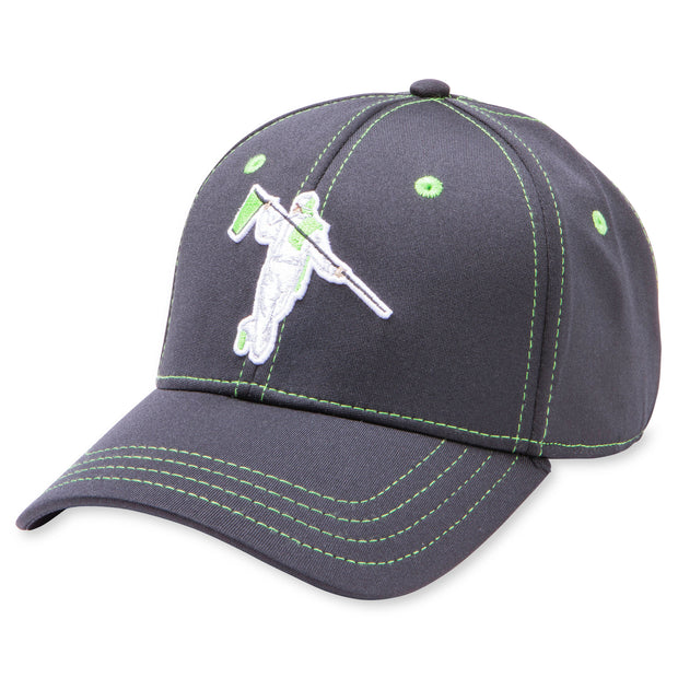 PERFECT FITTED - BLACK/LIME