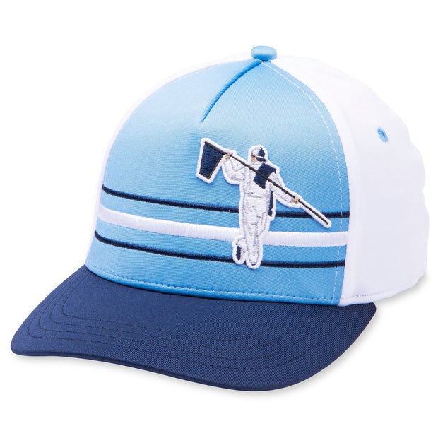 BEACH FITTED HAT - CAROLINA/WHITE/NAVY