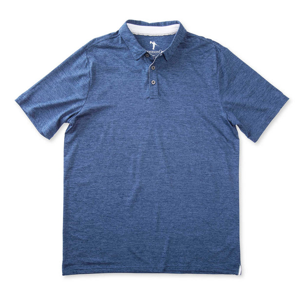 FEATHERLITE POLO - NAVY